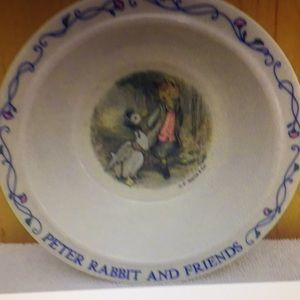 Vintage melamine by Eden Peter rabbit and friends